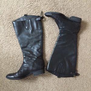Sam Edelman Penny 2 Wide Calf Black Boots